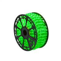 "150' x .5"" Green LED Rope Light 120V"