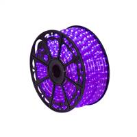 "150' x .5"" Purple LED Rope Light 120V"
