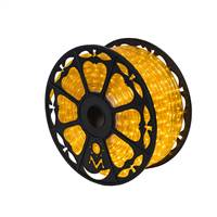 "150' x .5"" Yellow LED Rope Light 120V"