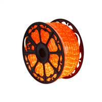 "150' x .5"" Orange LED Rope Light 120V"