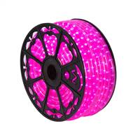 "150' x .5"" Pink LED Rope Light 120V"