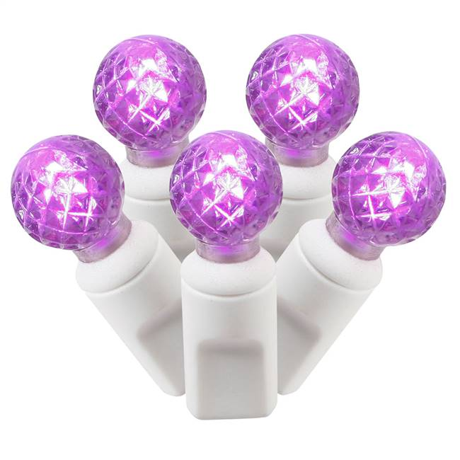 50Lt LED Purple/WW G12 EC Set  25'L