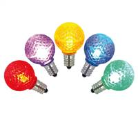 G30 Faceted LED Multi Bulb E12 .38W