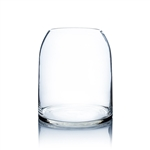 "Clear Dome Shape Terrarium Bowl Glass Vase. Open: 6.4""; Height: 11.5""; Diameter: 9.75"""