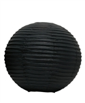"12"" Paper Lantern (Pack of 24) - Black"