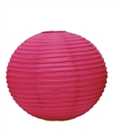 "12"" Paper Lantern (Pack of 24) - Fuchsia"