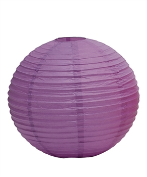 "12"" Paper Lantern (Pack of 24) - Lavender"