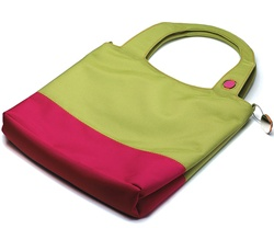 Designer Tote Bag in Twill Polyester