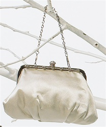 Framed Soft Evening Bag (Ivory Cream)