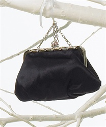 Framed Soft Evening Bag (Mascara Black)