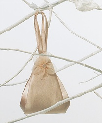 Spring Flower Evening Bag (Champagne Peach)