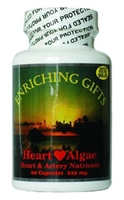 Red Heart Algae - 60 capsules - Enriching Gifts