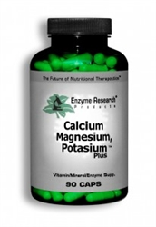 Enzyme Research Products Calcium Magnesium and Potassium Plus - 90 capsules