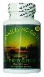 Daily Detoxification - 60 capsules - Enriching Gifts