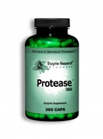 Enzyme Research Products Protease - 360 capsules