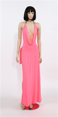 Kamala Collection Sexy Evening Gowns - Aphrodisia cowl dress