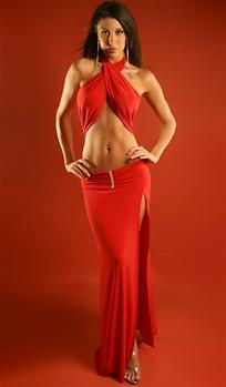 3816e10070 ... Jordana - Halter dress by Kamala Collection Sexy Evening Gowns ...