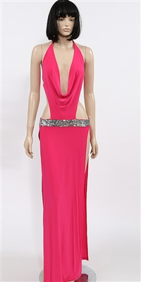 Kamala Collection Sexy Evening Gowns - Mykonos cowl dress