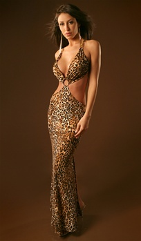 South Beach - Sexy halter dress by Kamala Collection Sexy Evening Gowns
