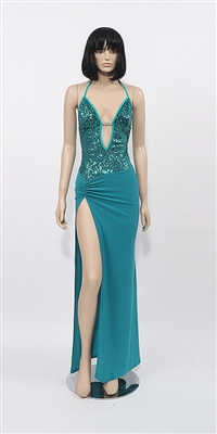 Kamala Collection Sexy Evening Gowns - Princess sequin dress