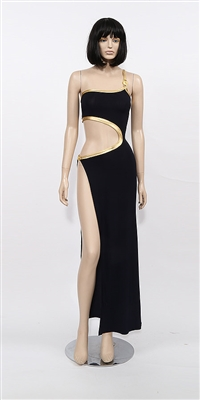 Serpentino - One shoulder dress by Kamala Collection Sexy Evening Gowns