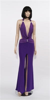 Kamala Collection Sexy Evening Gowns - Chelsea cowl discount dress