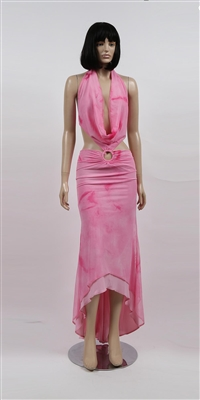 Kamala Collection Sexy Evening Gowns - Angel cowl dress