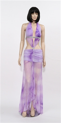 Sheena - Halter dress by Kamala Collection