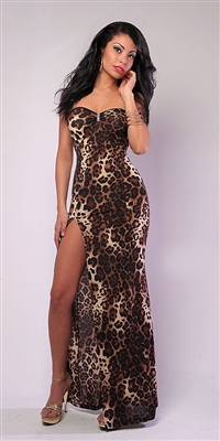 Cherokee Animal Print Dress