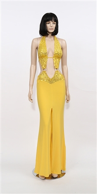 Kamala Collection Sexy Evening Gowns - Show stopper sequin dress