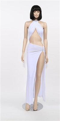 Ruby - Rhinestone halter by Kamala Collection Sexy Evening Gowns