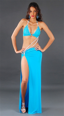 Yvette - Two piece exoticvgown by Kamala Collection