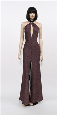 Kamala Collection Sexy Evening Gowns - Elle halter dress