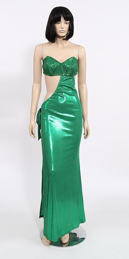 d3d77263 Calypso | Sequin dress with tie skirt | KamalaCollection.com on Sale