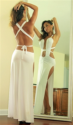 Tantra - Tie halter dress