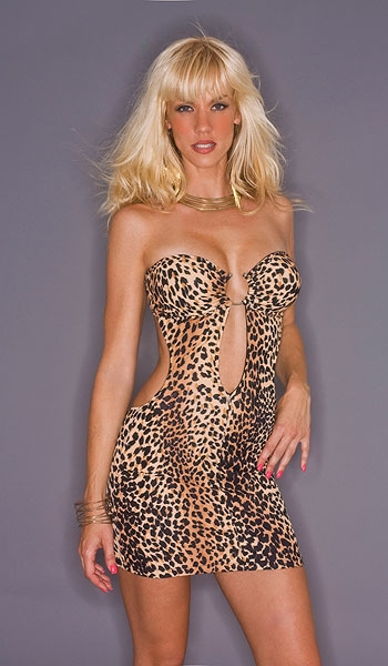 f29ad9f3a694 Jo Jo | Cheetah mini tube dress | KamalaCollection.com