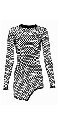Casey - Fishnet mini dress by Kamala Collection Clubwear