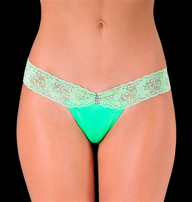 Monique - Wide lace g-string by Kamala Collection  Sexy Lingerie