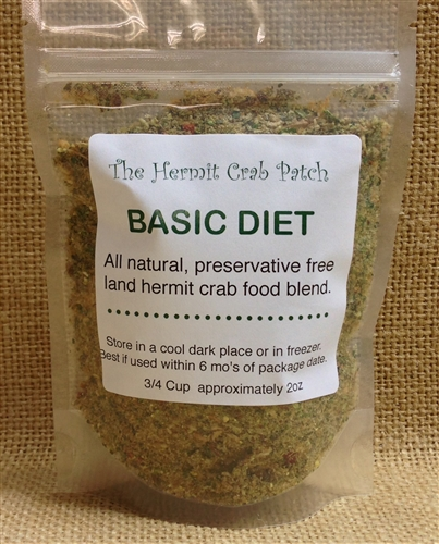 Hermit Crab Diet | Thcp Basic Diet Preservative Free Hermit Crab Food