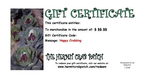 hermit crab patch coupon code