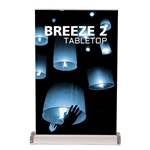 "Breeze 2 Mini Banner Stand 11"" x 17"""