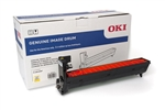 Oki C8432WT Image Drum Yellow (Yield 30,000)