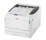 Oki Pro 8432WT Heat Transfer Printer with White