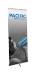 "Pacific 920 Banner Stand 35.5"" SILVER"