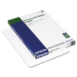 Epson Enhanced Matte Paper 10 mil. 13 x 19 (100 Sheets)