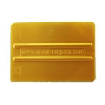 Gold Nylon Blend Squeegee, 4""
