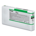 EPSON UltraChrome HDX Green Ink Cartridge 200 ML