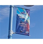 "Ultraflex Pole Banner Blockout 38"" x 164', 18 oz."