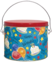 "12 piece ""Birthday"" Cookie Pail"