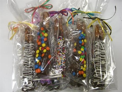 Kosher Chocolate Dipped Gourmet Pretzels